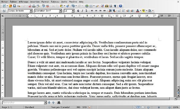 Libre office suite bureautique rcabm site de gestion - Correcteur orthographique open office ...
